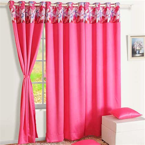 hot pink blackout curtains hot pink blackout window curtain india