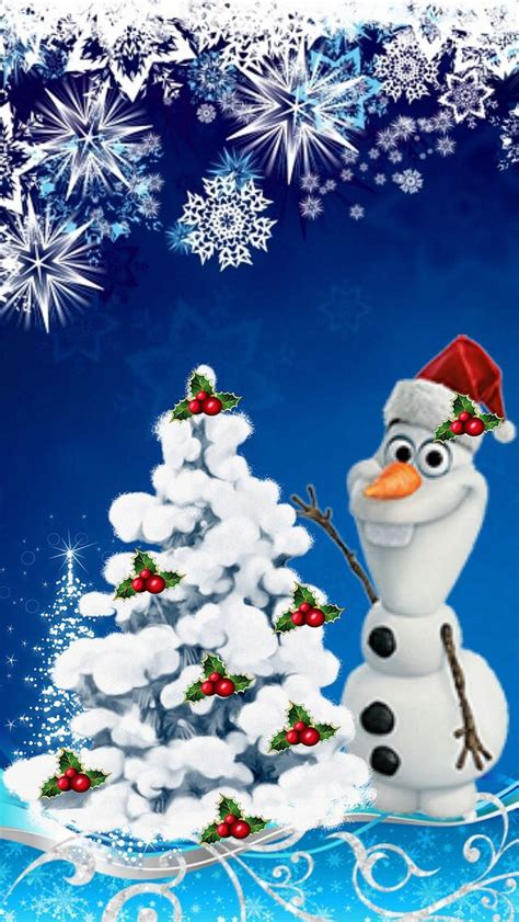 wallpaper frozen christmas checkout this wallpaper for your iphone http zedge net