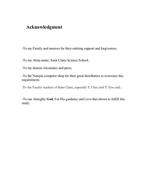 Acknowledgement Letter For Grammarian dissertation acknowledgment