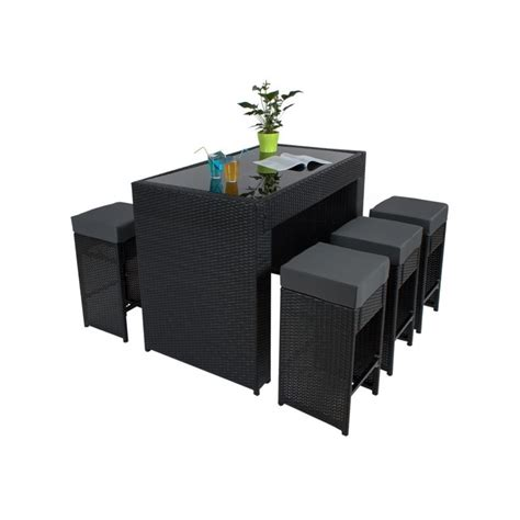 Exceptionnel Salon De Jardin Rotin Synthetique #2: table-haute-salon-de-jardin-rotin-resine-tresse-synthetique-6-tabourets-rotin-noir-2108014.jpg