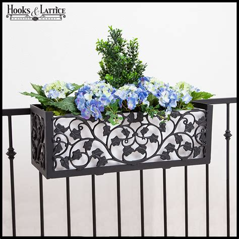 railing planter boxes deck rail planter boxes planters for railings hooks