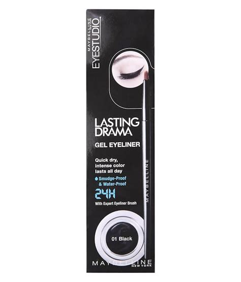 Maybelline Mascara Veh Black V2 Maybelline Lasting Drama Gel Eyeliner Black 01 2 8gm
