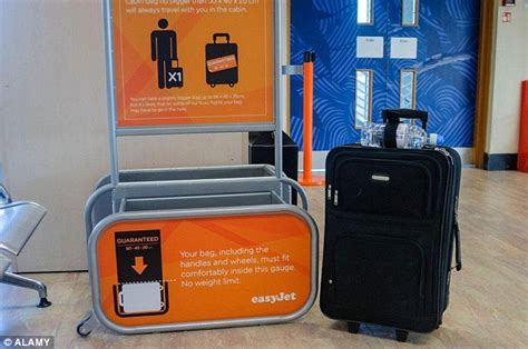easyjet cabin size easyjet scraps its guaranteed bag in cabin policy for