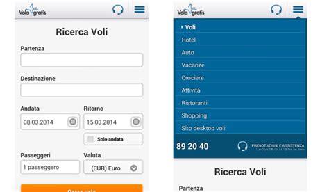volagratis mobile volagratis uno dei migliori portali per trovare biglietti