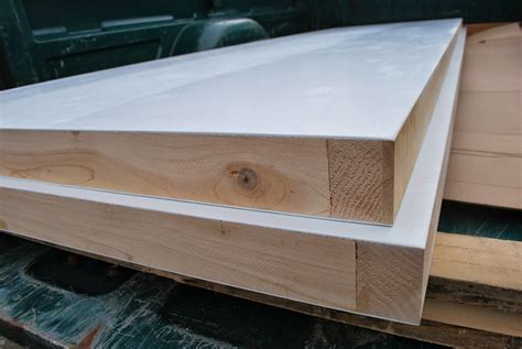 regular carpenter glue wood edges and mdf on torsion box