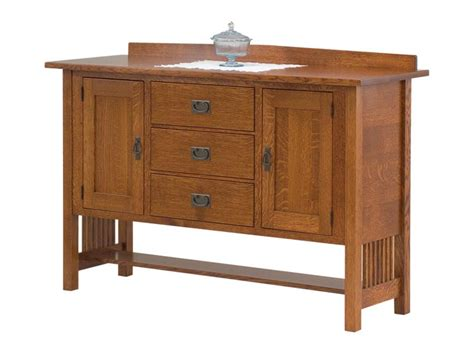 amish mission style sideboard from dutchcrafters amish