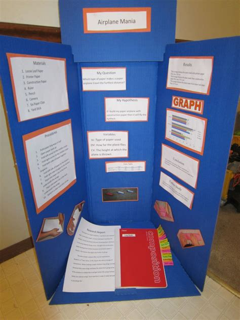 How To Make Paper Science Project - my sons science fair project on paper airplanes