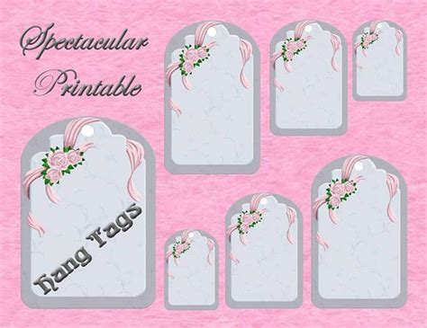 printable price tags uk items similar to printable victorian ribbons and roses