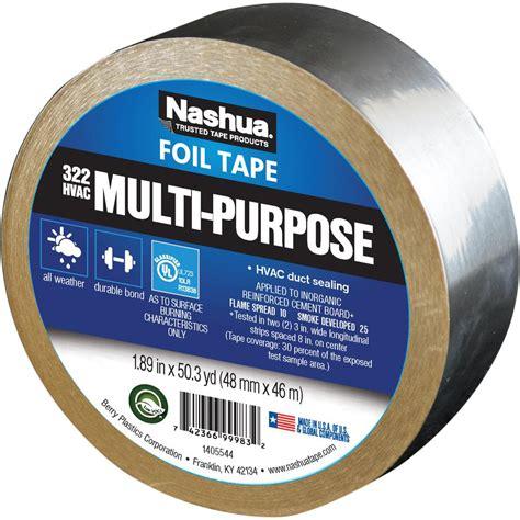 Kitchen Flooring Home Depot Nashua Tape 1 89 In X 50 Yd 322 Multi Purpose Hvac Foil