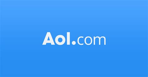 Aol Email Search Aol News Weather Entertainment Finance Lifestyle