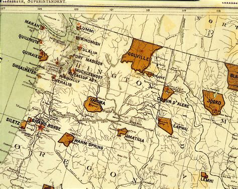 American Indian reservations in Washington (state)