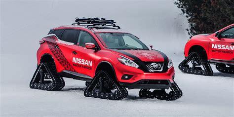 nissan winter 2016 nissan murano winter warrior vehicles on