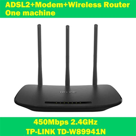 Modem Adsl Tp Link Wifi new tp link td w89941n 450mbps adsl modem wifi extender wireless router one machine 3 antenna