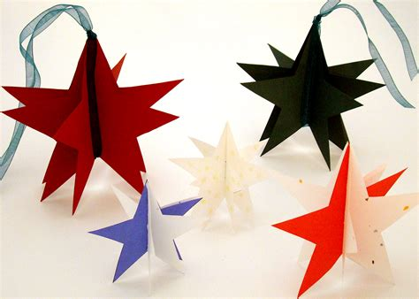 holiday paper star ornament it s a gift