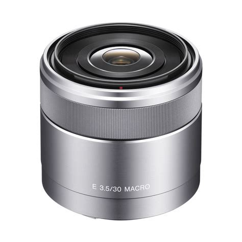 sony 30mm f 3 5 macro alpha e mount lens the company