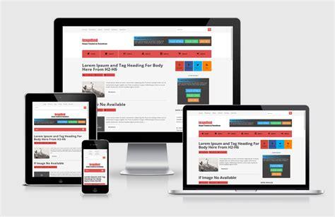 free responsive blogger template yang quot terinspirasi quot