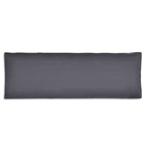 Polybag 40 X 20 Cm der gepolstertes r 252 ckenkissen 120 x 40 x 20 cm grau shop vidaxl de