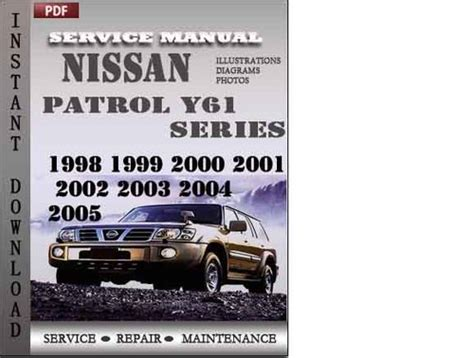 Pay For Nissan Patrol Y61 Series 1998 1999 2000 2001 2002