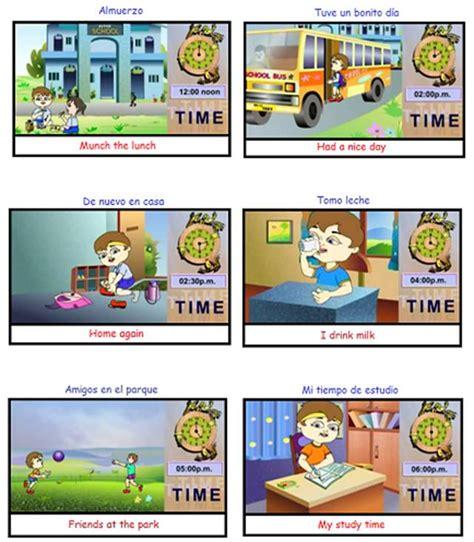 imagenes rutinas diarias en ingles ingl 233 s duties of children monografias com