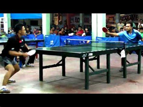Meja Pingpong Medan table tennis aka tenis meja medan dhani daud sudrajat vs