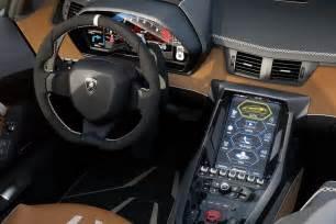 Lamborghini Interior 770 Hp Lamborghini Centenario Roadster Unveiled In Pebble