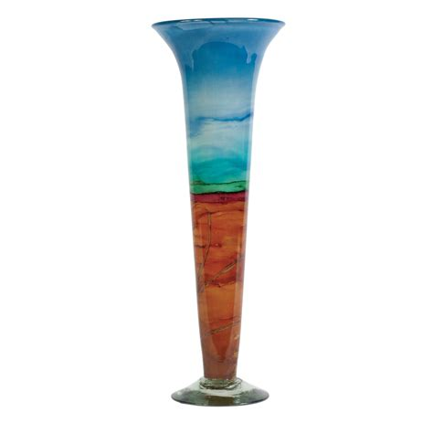Glass Cone Vase by Shoreline Cone Glass Vase Couleur