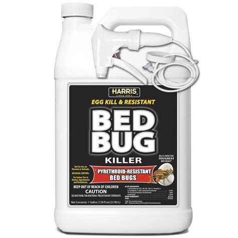 pyrethroid resistant bed bug killer pf harris