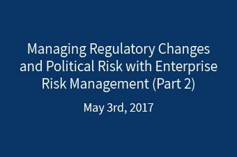 Post Mba Political Risk by Managing Regulatory Changes And Political Risk With