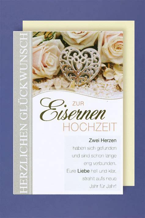 Eiserne Hochzeit by Avancarte Shop