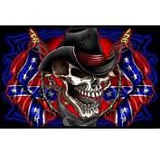 Rebel Flag And Skeleton  Southern Pride Pinterest