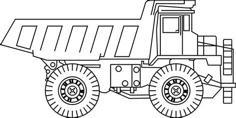 Truck Outline by Lifted Truck Drawing Outline Www Imgkid The Image Kid Has It