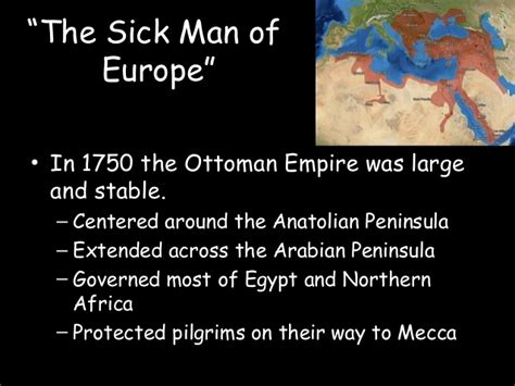 sick man of europe ottoman empire decline of the ottoman and qing internal troubles