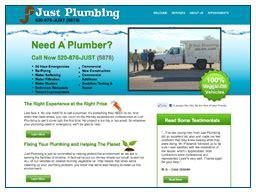Just Plumbing by Portfolio Website Design