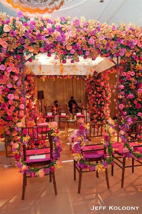 pink flowered mandap indian wedding decor indian mandap indian wedding indian wedding decor