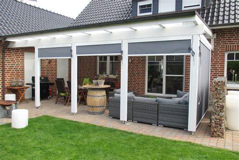 terrassendach aluminium glas lass die sonne rein terrassen 252 berdachung aus glas