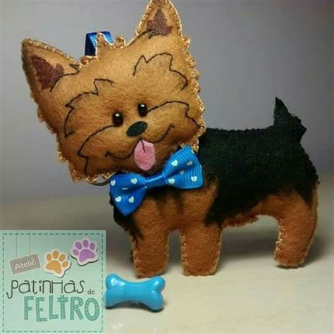 felt yorkie pattern 716 best felt dogs images on pinterest felt fabric