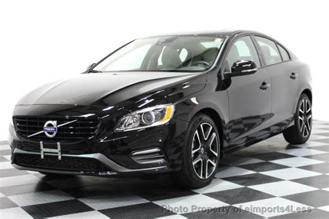 used volvo s60 t5 2017 used volvo s60 certified s60 t5 dynamic navigation at