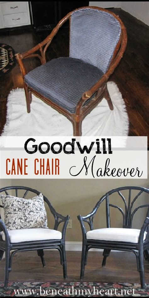 goodwill furniture makeovers goodwill chairs makeover beneath my heart