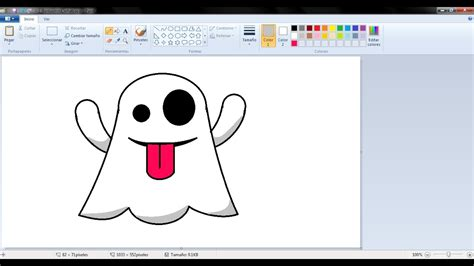 imagenes para dibujar en paint dibujos para ni 241 os c 243 mo dibujar un fantasmita con paint