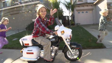 kids police motorcycle youtube