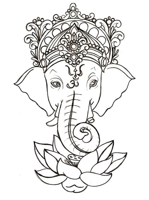 draw ganesha clipart best