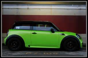 Light Green Mini Cooper Lime Green Mini Cooper S R56 Flickr Photo