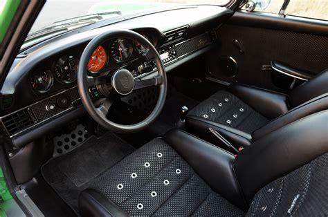 porsche 911 singer interior modern classics singer 911 secret entourage