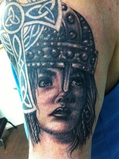 Viking Woman Warrior Tattoos