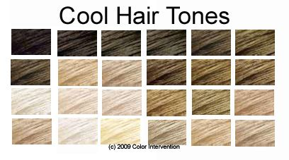 hair color for cool skin tones best chart for blonde hair tone fire ice earth and air