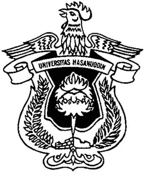 membuat logo hitam putih logo unhas universitas hasanuddin makassar fairuz el said