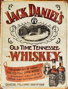 jack daniels sippin whisky carteles de chapa compra en