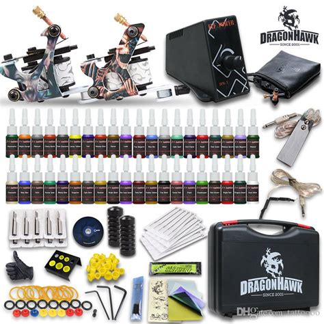 cheap tattoo kits under 20 complete kits 2 guns machines inks sets disposable