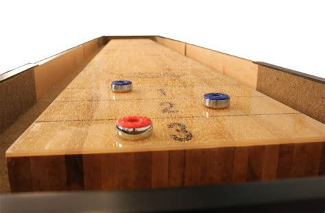 what is a regulation shuffleboard table length a guide to shuffleboard sizes and your homemcclure tables