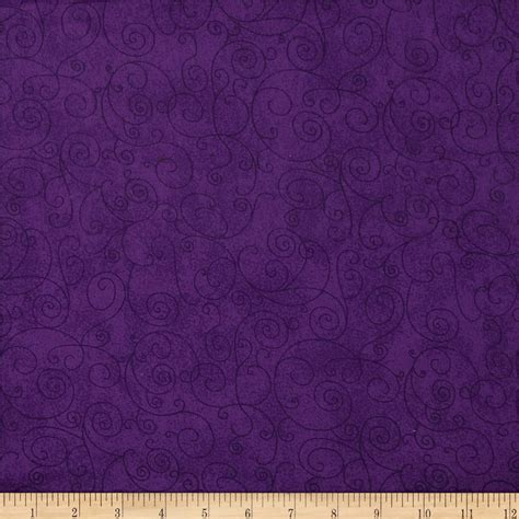 Wide Back Quilt Fabric by 110 Quot Wide Flannel Quilt Back Willow Purple Discount Designer Fabric Fabric